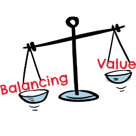 CBalancing Value Scales